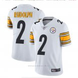 Camiseta NFL Game Pittsburgh Steelers 2 Mason Rudolph Blanco