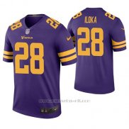 Camiseta NFL Legend Hombre Minnesota Vikings George Iloka Violeta Color Rush
