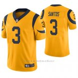 Camiseta NFL Legend Hombre St Louis Rams Cairo Santos Oro Color Rush