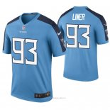 Camiseta NFL Legend Hombre Tennessee Titans Dee Liner Color Rush Azul