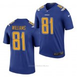 Camiseta NFL Legend Los Angeles Chargers Mike Williams Royal Color Rush