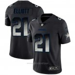 Camiseta NFL Limited Dallas Cowboys Elliott Smoke Fashion Negro