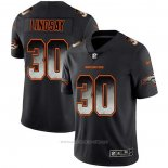 Camiseta NFL Limited Denver Broncos Lindsay Smoke Fashion Negro
