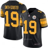 Camiseta NFL Limited Hombre 19 Smith-schuster Pittsburgh Steelers Negro