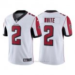 Camiseta NFL Limited Hombre Atlanta Falcons 2 Matt Ryan Blanco