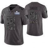 Camiseta NFL Limited Hombre Atlanta Falcons Deion Sanders Gris Super Bowl LIII
