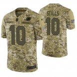 Camiseta NFL Limited Hombre Camo Kenny Stills 2018 Salute To Service Jersey