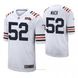 Camiseta NFL Limited Hombre Chicago Bears Khalil Mack 100th Season Classic Blanco