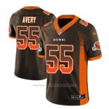 Camiseta NFL Limited Hombre Cleveland Browns Genard Avery Marron 2018 Drift Fashion Color Rush