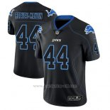 Camiseta NFL Limited Hombre Detroit Lions Jalen Reeves Maybin Negro Color Rush 2018 Lights Out