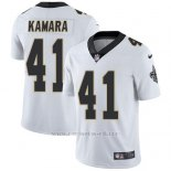Camiseta NFL Limited Hombre New Orleans Saints 41 Alvin Kamara Blanco Stitched Vapor Untouchable