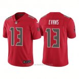 Camiseta NFL Limited Hombre Tampa Bay Buccaneers 13 Mike Evans Rush Rojo