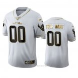 Camiseta NFL Limited Houston Texans Personalizada Golden Edition Blanco