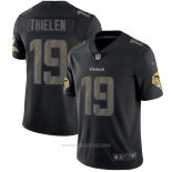 Camiseta NFL Limited Minnesota Vikings Thielen Black Impact