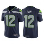 Camiseta NFL Limited Nino Seattle Seahawks 12 Fan Azul Vapor Untouchable