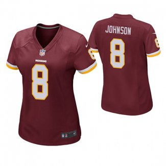 Camiseta NFL Mujer Game Redskins Josh Johnson Rojo