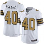 Camiseta New Orleans Saints Breaux Blanco Nike Legend NFL Hombre
