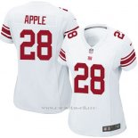 Camiseta New York Giants Apple Blanco Nike Game NFL Mujer
