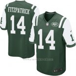 Camiseta New York Jets Fitzpatrick Verde Nike Game NFL Nino
