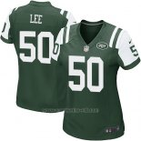 Camiseta New York Jets Lee Verde Nike Game NFL Mujer