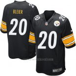 Camiseta Pittsburgh Steelers Bleier Negro Nike Game NFL Nino