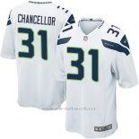 Camiseta Seattle Seahawks Chancellor Blanco Nike Game NFL Nino