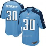 Camiseta Tennessee Titans Mccourty Azul Nike Game NFL Hombre