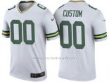 Camisetas NFL Limited Nino Green Bay Packers Personalizada Blanco