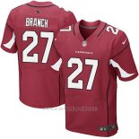 Camiseta Arizona Cardinals Branch Rojo Nike Elite NFL Hombre