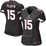 Camiseta Arizona Cardinals Floyd Negro Nike Game NFL Mujer