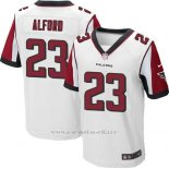 Camiseta Atlanta Falcons Alford Blanco Nike Elite NFL Hombre