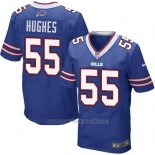 Camiseta Buffalo Bills Hughes Azul Nike Elite NFL Hombre