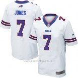 Camiseta Buffalo Bills Jones Blanco 2016 Nike Elite NFL Hombre