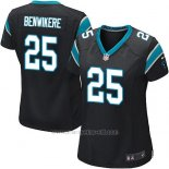 Camiseta Carolina Panthers Benwikere Negro Nike Game NFL Mujer