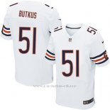 Camiseta Chicago Bears Butkus Blanco Nike Elite NFL Hombre