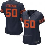 Camiseta Chicago Bears Freeman Azul Nike Game NFL Mujer