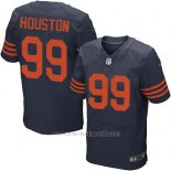 Camiseta Chicago Bears Houston Apagado Azul Nike Elite NFL Hombre