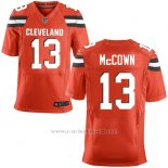 Camiseta Cleveland Browns Mccown Rojo Nike Elite NFL Hombre
