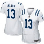 Camiseta Indianapolis Colts Hilton Blanco Nike Game NFL Mujer
