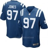 Camiseta Indianapolis Colts Jones Azul Nike Game NFL Hombre