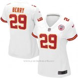 Camiseta Kansas City Chiefs Berry Blanco Nike Game NFL Mujer