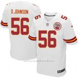 Camiseta Kansas City Chiefs D.Johnson Blanco Nike Elite NFL Hombre