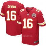 Camiseta Kansas City Chiefs Dawson Rojo Nike Elite NFL Hombre