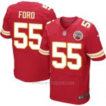 Camiseta Kansas City Chiefs Ford Rojo Nike Elite NFL Hombre