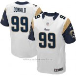 Camiseta Los Angeles Rams Donald Blanco Nike Elite NFL Hombre