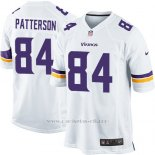 Camiseta Minnesota Vikings Patterson Blanco Nike Game NFL Hombre