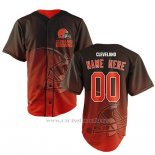 Camiseta NFL Cleveland Browns Personalizada Rojo