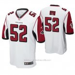 Camiseta NFL Game Hombre Atlanta Falcons Bruce Irvin Blanco