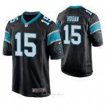 Camiseta NFL Game Hombre Carolina Panthers Chris Hogan Negro