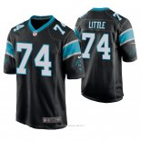Camiseta NFL Game Hombre Carolina Panthers Greg Little Negro